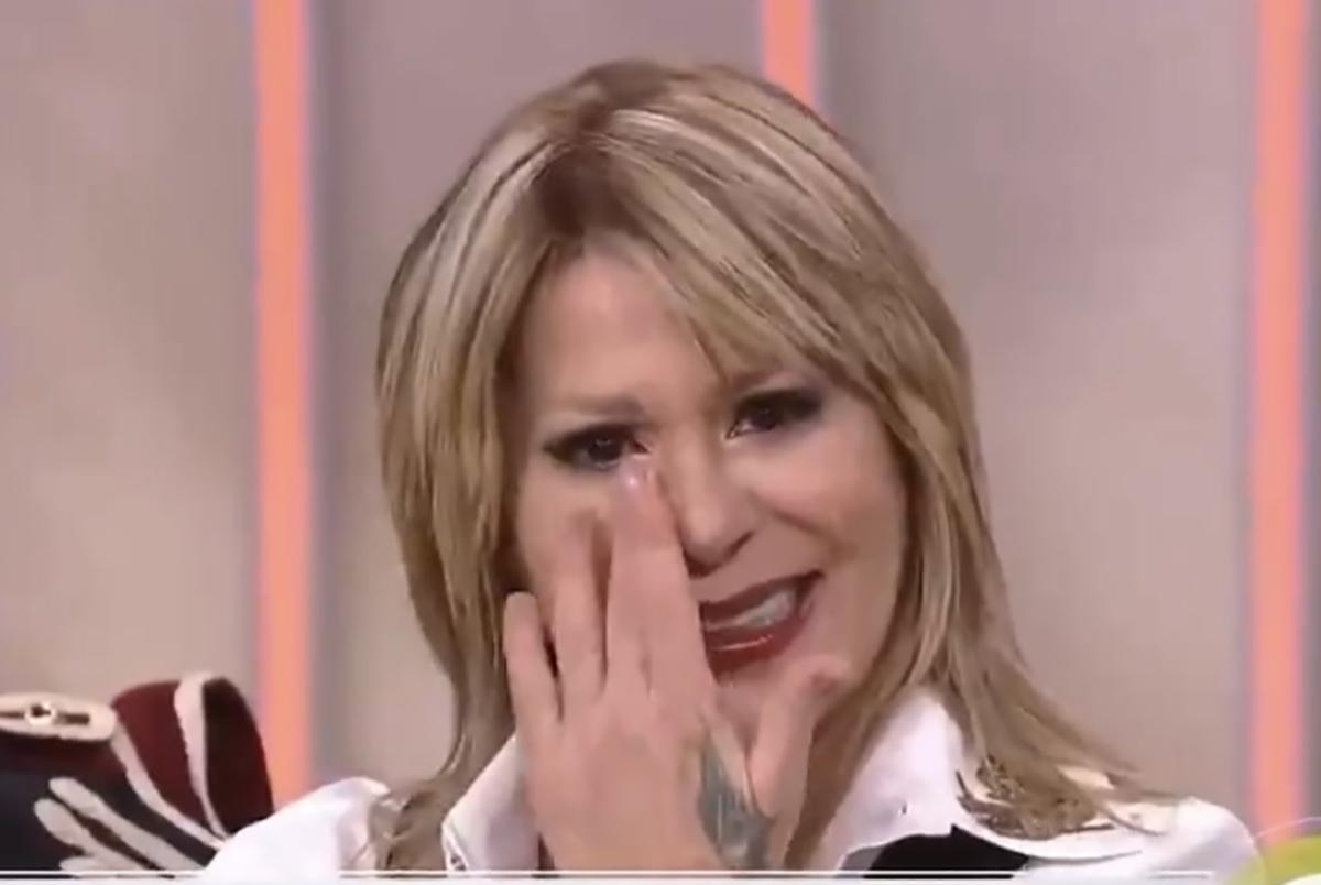 """Alejandra Guzmán llorando: """"Frida te necesito, siempre te voy a estar esperando"""""""