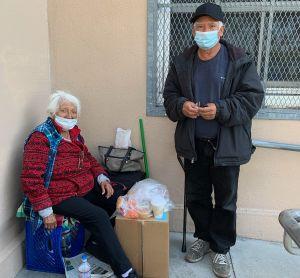 Abuelitos logran conseguir vivienda temporal
