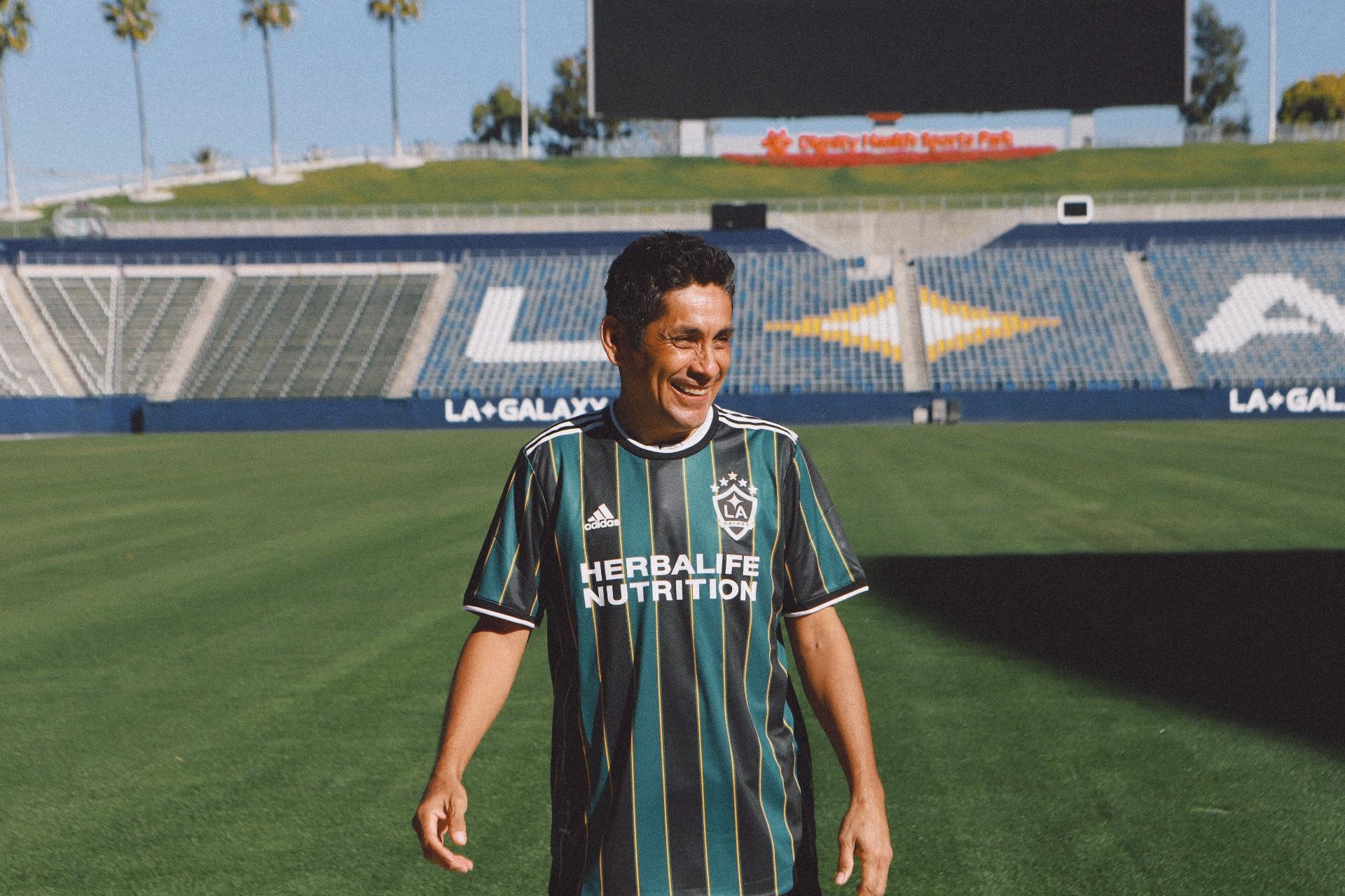 Jorge Campos La Galaxy playera nueva