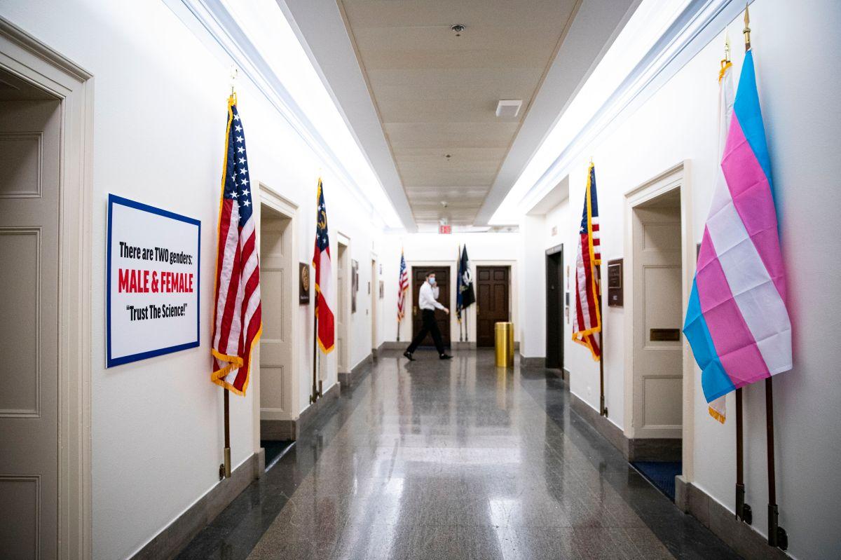 Videos muestran pelea de símbolos entre dos representantes por La ley de Igualdad