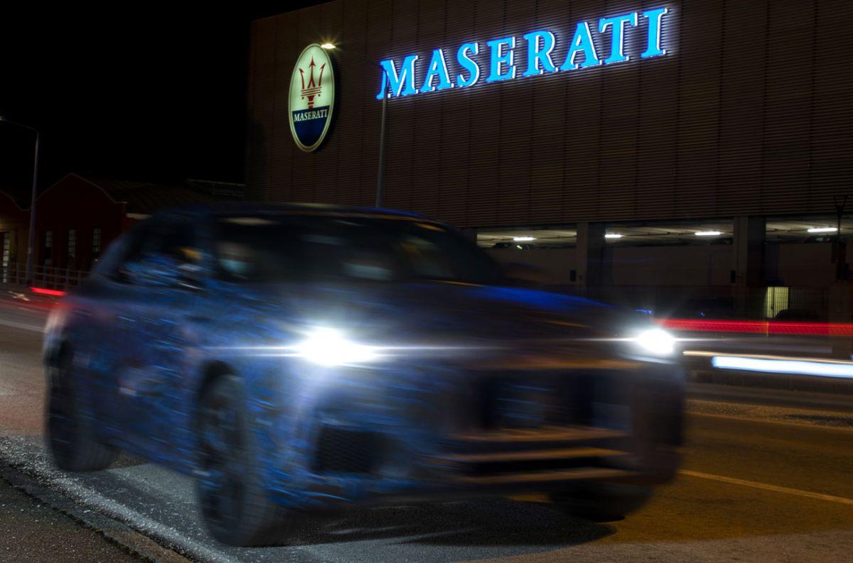 El próximo SUV de Maserati se deja ver