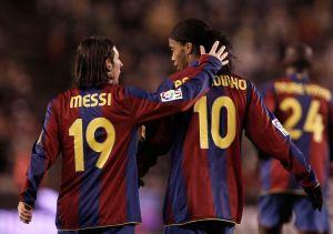 Lionel Messi envía solidario mensaje a Ronaldinho por el fallecimiento de su madre