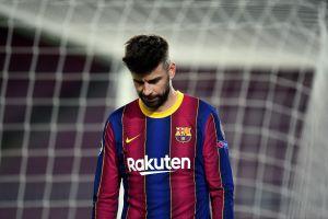 Gerard Piqué es baja contra el Osasuna y podría perderse la vuelta de Champions contra el PSG