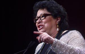 Cómo la jueza latina Sonia Sotomayor estuvo en riesgo de ser asesinada por un pistolero