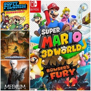 Reseña: Super Mario 3D World + Bowser's Fury, The Medium, Gods Will Fall y Scott Pilgrim vs. The World: The Game - Edición Completa