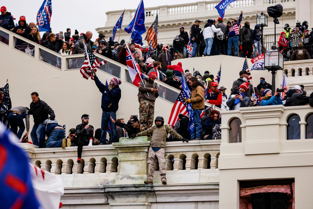 La toma del Capitolio mostró una nación dividida después de las elecciones.
