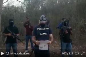 """VIDEO: """"Quienes no se alineen, los vamos a matar"""", amenaza CJNG a nombre del Mencho"""