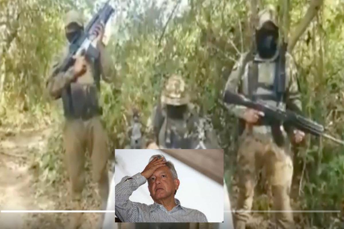 VIDEO: CJNG manda mensaje a AMLO y amenaza de muerte a rivales
