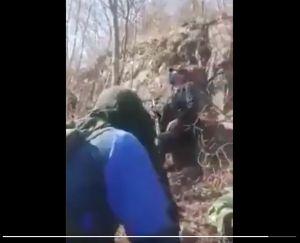 VIDEO: Ejército mexicano disparó así a sicarios del CJNG; este es el momento exacto