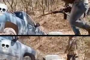 VIDEO: Narcos de La Familia Michoacana se enfrentan a balazos contra el CJNG
