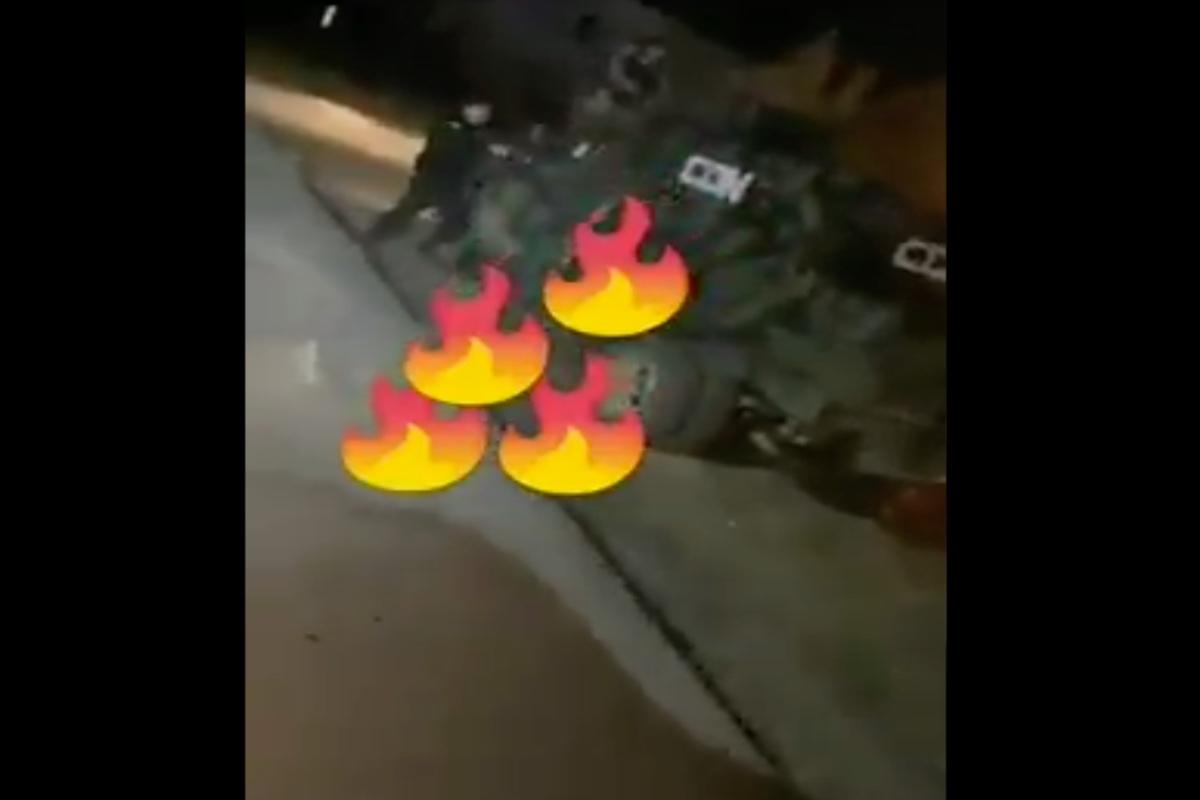 VIDEO: Sicarios del Cártel del Golfo matan a rivales del Noreste; troca se les descompuso y así les dispararon