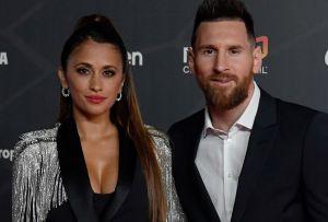 Antonela Roccuzzo, la esposa de Lionel Messi, muestra su sexy figura al ejercitarse en el gimnasio