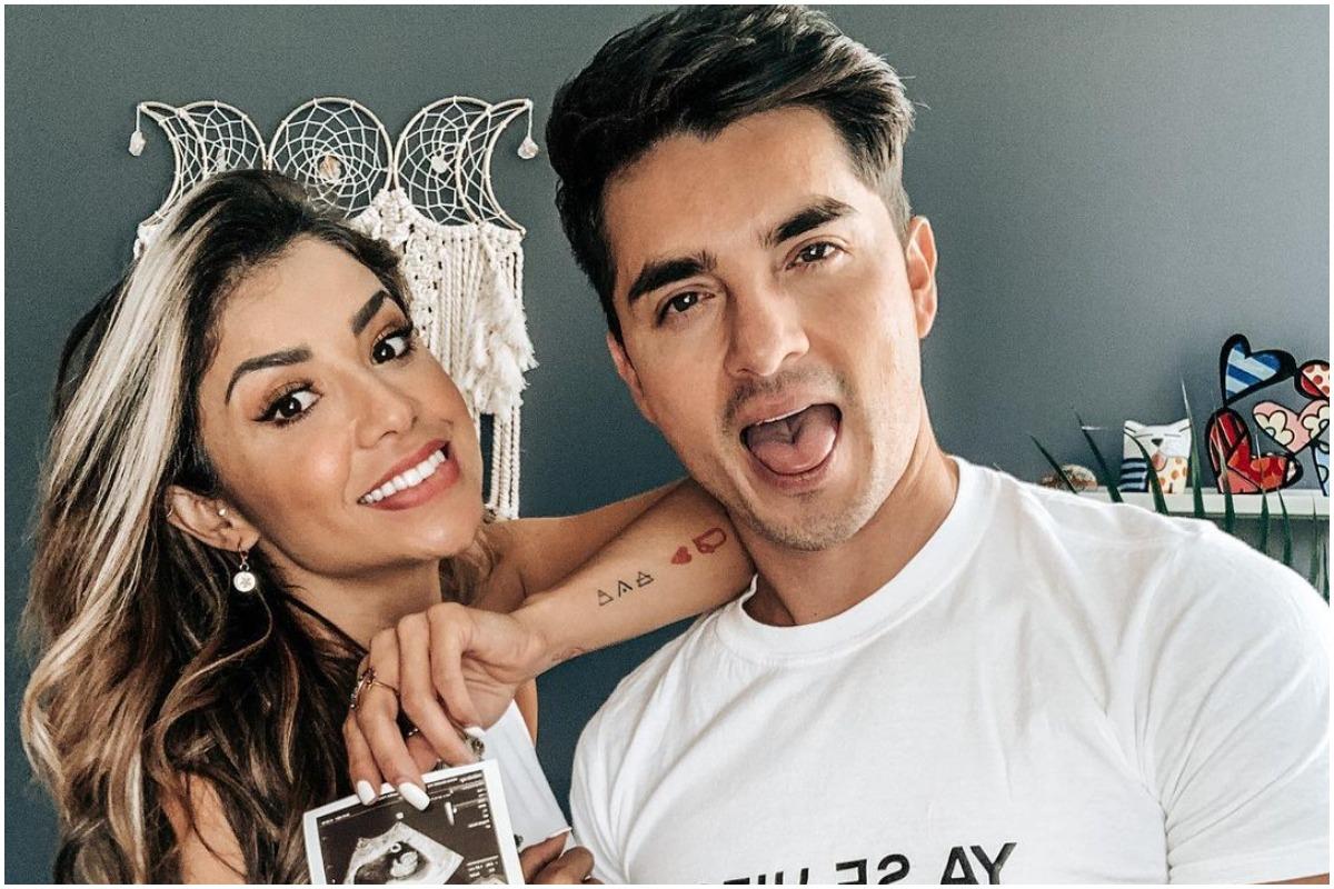 Christian Estrada y 'Ferka' están listos para recibir a su primer hijo.