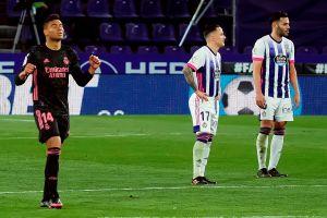 ¡Hay Liga! El Real Madrid acecha al líder luego de su sufrido triunfo en Valladolid