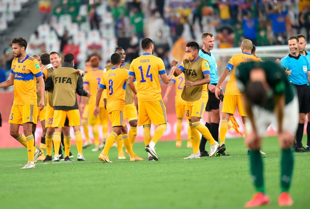 Tigres derrotó a Palmeiras en la semifinal del Mundial de Clubes.