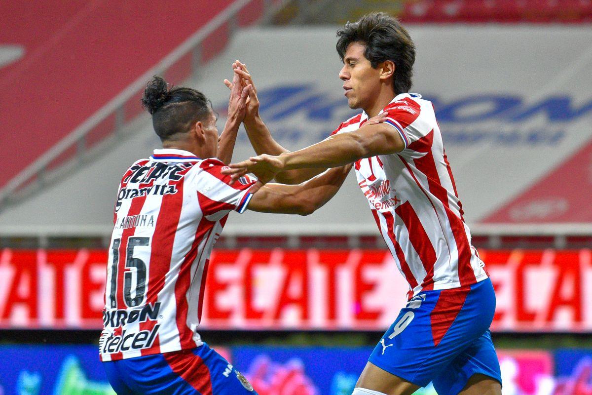 José Juan Macías es el goleador del equipo.