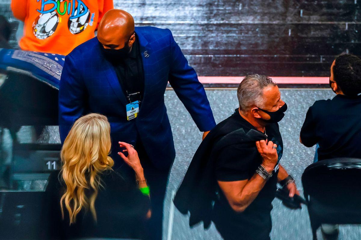 """Tras el altercado en Atlanta: """"Courtside Karen"""" pidió disculpas públicamente por su pelea con LeBron James"""