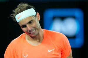 Rafael Nadal, eliminado del Abierto de Australia tras una histórica voltereta