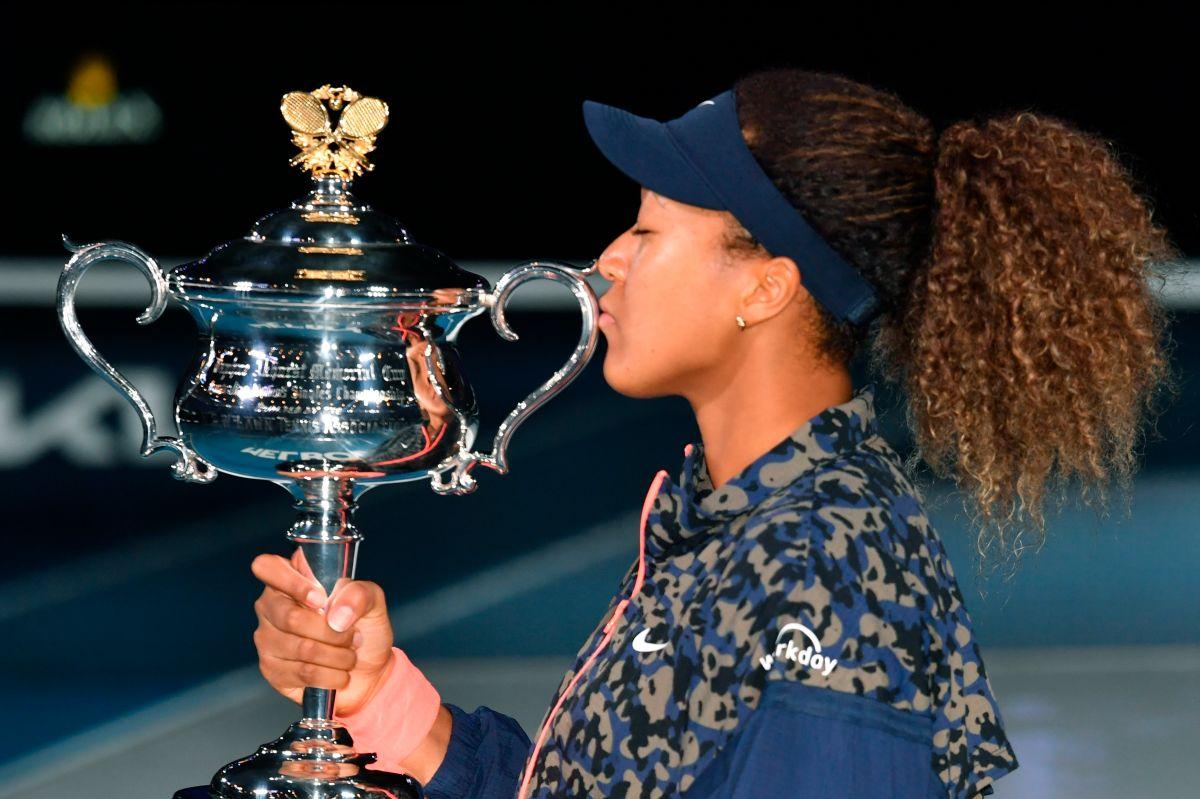 Naomi Osaka, la nueva fuerza dominante del tenis mundial.