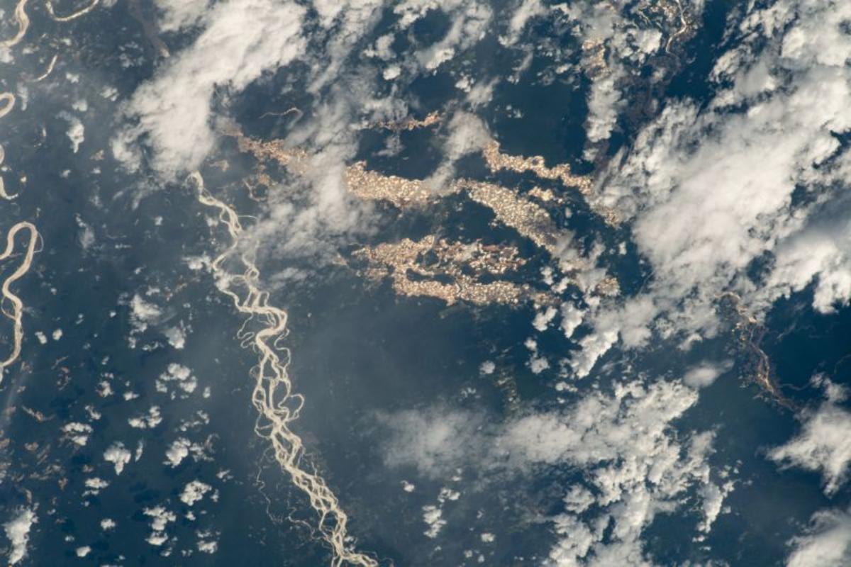 Las imágenes fueron captadas por un astronauta de la Estación Espacial Internacional.