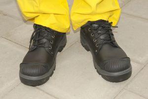 Zapatos de trabajo para hombres antideslizantes y que son cómodos para largas jornadas