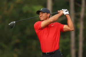 Le rinden homenaje: Golfistas se visten de rojo en honor a Tiger Woods en torneo PGA Tour