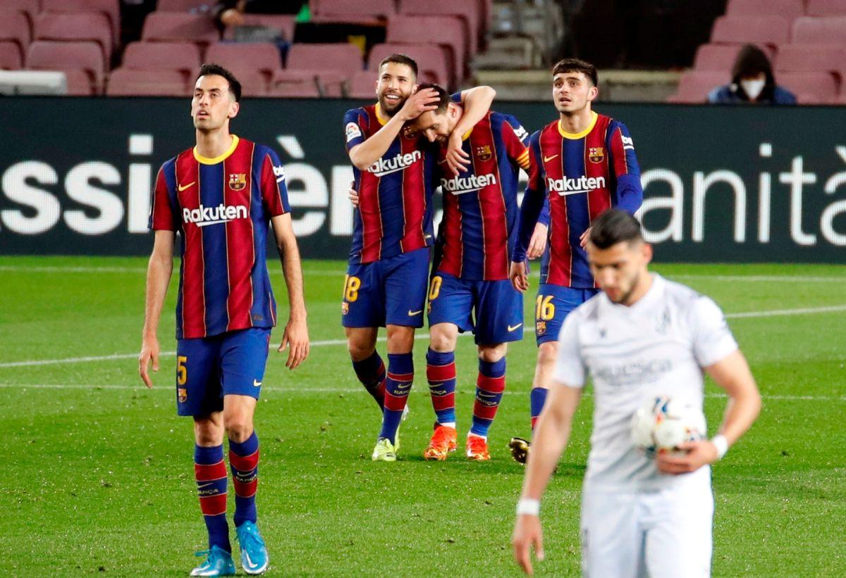 El FC Barcelona goleó y ya superó al Real Madrid en La Liga
