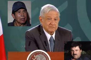 AMLO defiende no disparar a narcos en cuna del Chapo Guzmán, Caro Quintero y Don Neto