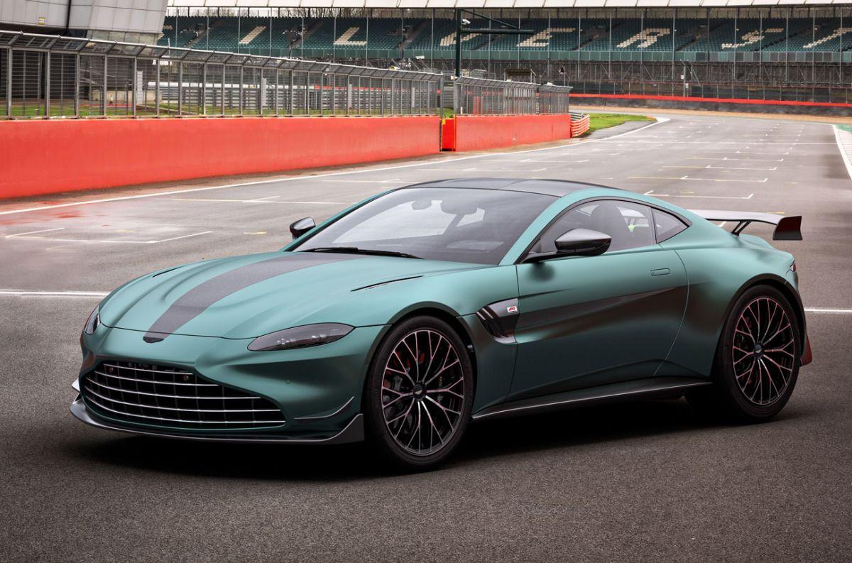 Aston Martin y una serie especial de F1