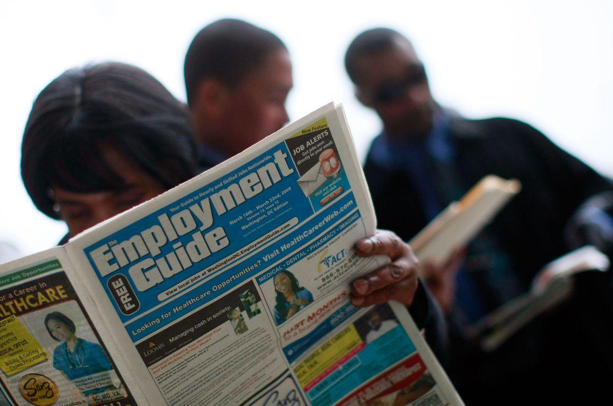 ¿Por qué disminuyeron las solicitudes de desempleo a nivel más bajo esta semana?
