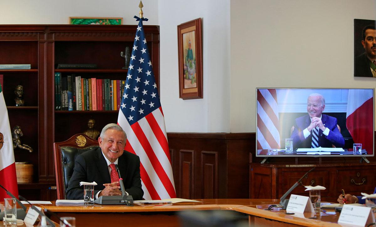 AMLO invitó a Joe Biden visitar México; fue un encuentro respetuoso y sin discrepancias, asegura el presidente mexicano