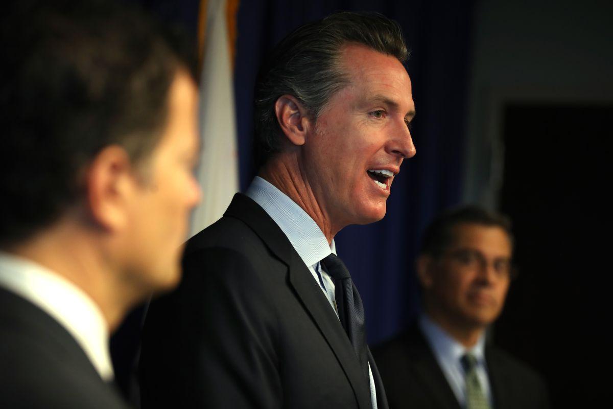 El anuncio de Newsom tiene lugar días después de que le pidieran que un asiático fuera fiscal general.