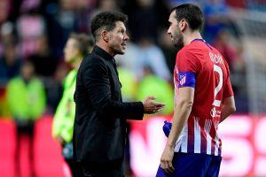 """Diego Godín sobre Simeone: """"Es un amigo"""""""
