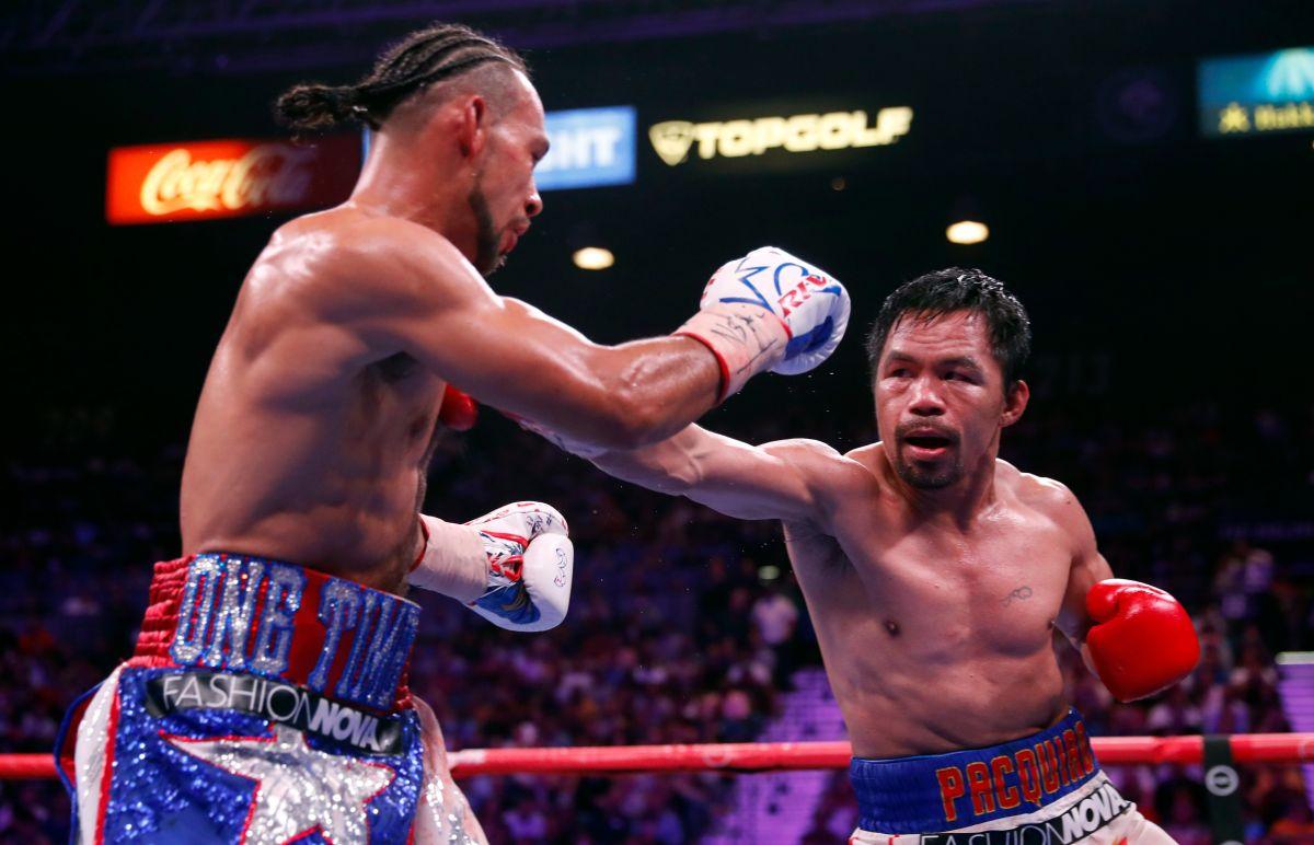 El filipino viene de quitarle el invicto a Keith Thurman  por el Campeonato Welter de la Asociación Mundial de Boxeo.