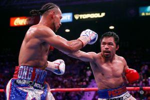 Estaría en conversaciones una posible pelea entre Manny Pacquiao y Terence Crawford