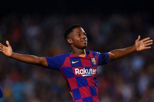 Ansu Fati gana premio al mejor jugador joven del mundo