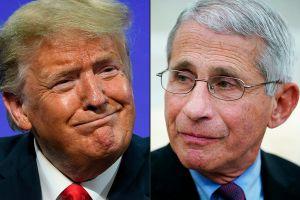"Donald Trump arremete contra Anthony Fauci; dice que el epidemiólogo ""reinventa la historia para ""encubrir"" sus errores."