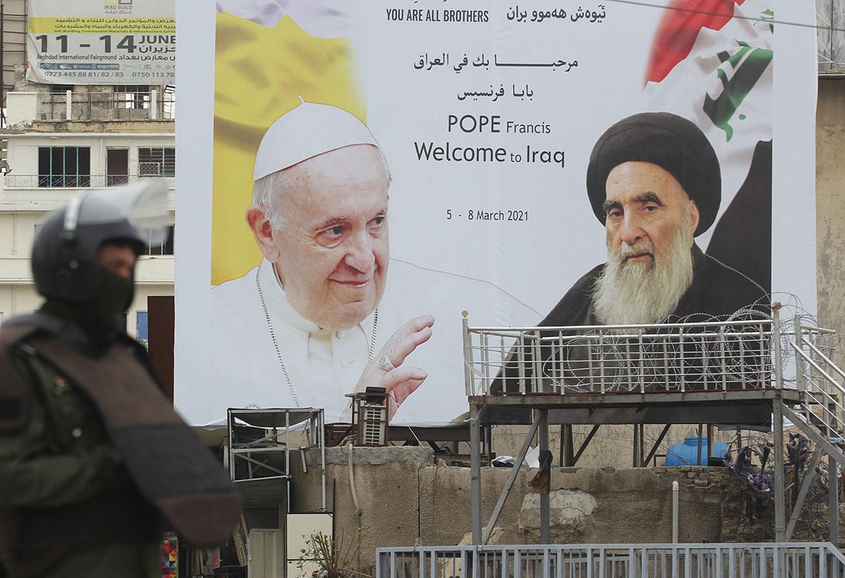 Papa Francisco emprende viaje a Irak; sostendrá reunión con el gran Ayatolá Ali Al-Sistani