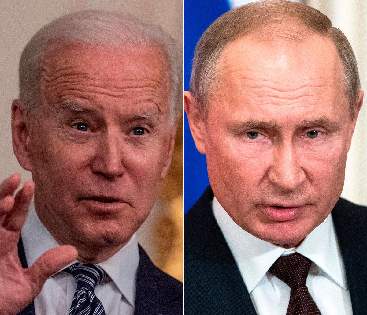 """Joe Biden llama """"asesino"""" a Vladímir Putin y dice que """"pagará un precio"""" por interferir en elecciones"""