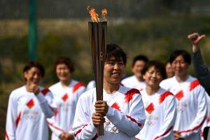 La antorcha olímpica ha comenzado su recorrido por Japón