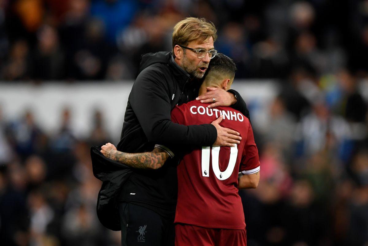 Coutinho en el Liverpool