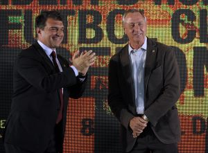 El Barcelona solicitará dedicarle una calle a Johan Cruyff
