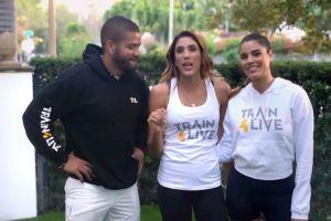 Ariadna Gutiérrez y el entrenador de los famosos, Yas Rodríguez, comienzan un nuevo reto