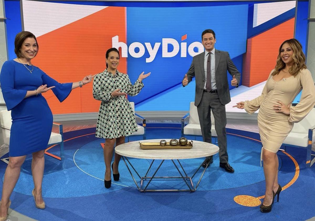 Nacho Lozano llega al estudio de 'Hoy Día' a un mes de haber comenzado