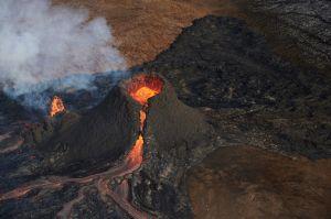 Islandia transmite en vivo la erupción de un volcán en YouTube