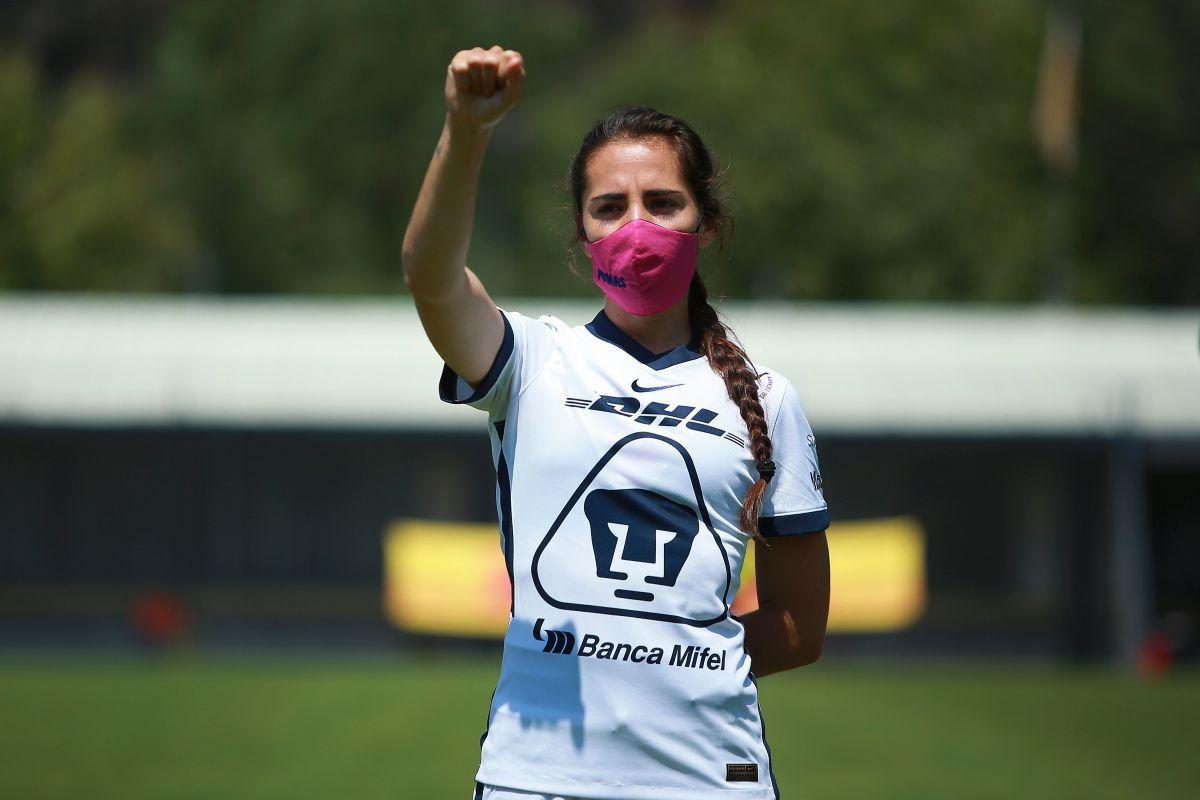 Capitana de Pumas alza la voz contra acosadores en redes sociales