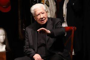 A sus 96 años, Ignacio López Tarso ya recibió la primera dosis de la vacuna contra el COVID-19