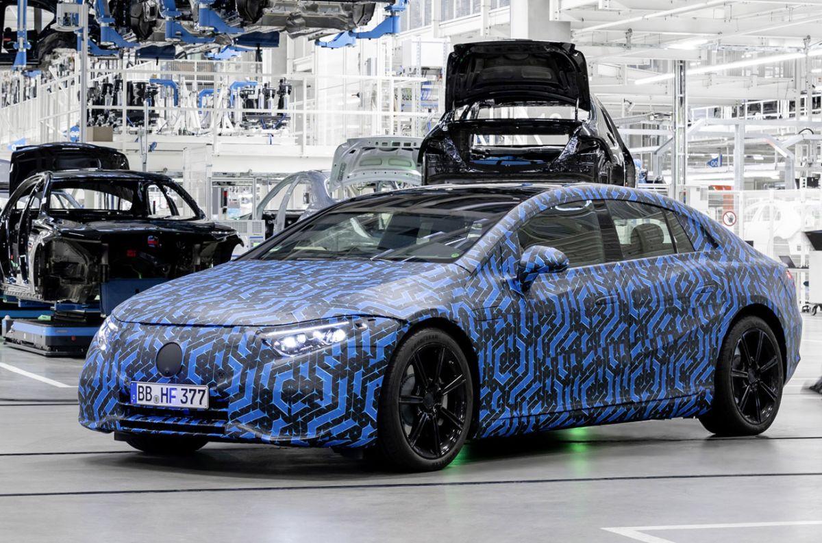 Mercedes-Benz ultima detalles de su próximo auto eléctrico