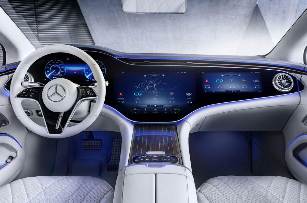Así de técnológico es el interior del próximo eléctrico de Mercedes-Benz