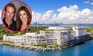 Así es el espectacular y lujoso penthouse que Cindy Crawford compró en Miami Beach